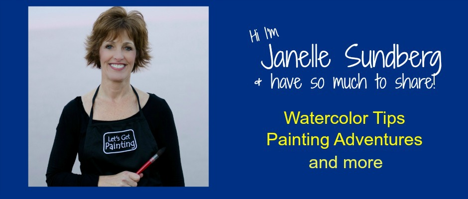 Janelle Sundberg watercolor artist