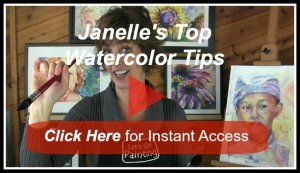top watercolor tips video image